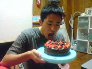 ケーキ食べよう中