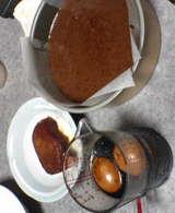 ガトーと味玉とチャーシュー