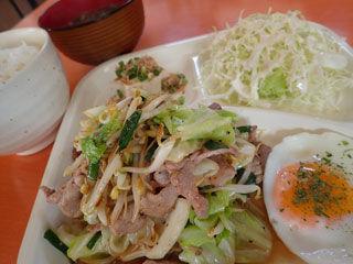 塩豚野菜炒め