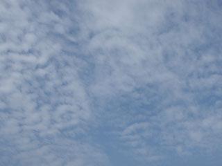 うっすら雲