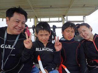 スノーケリングチーム