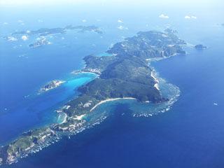 慶良間諸島?