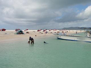 曇りのはての浜