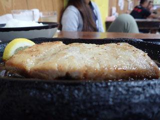 魚ステーキ定食