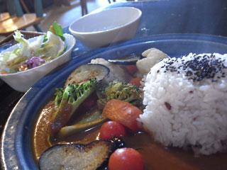 季節の島野菜カレー