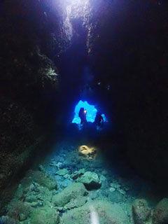 洞窟の風景