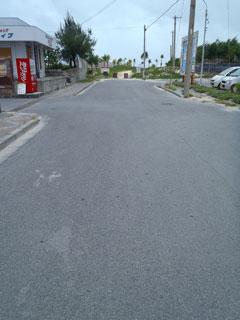 イーフビーチへの道