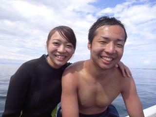 船上記念写真