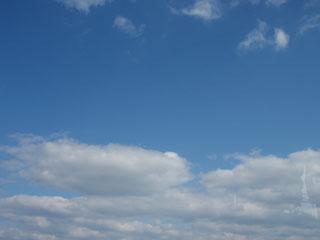 晴れ&曇り
