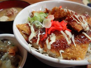 魚マヨかつ丼
