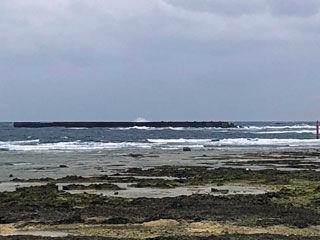 北側の海況