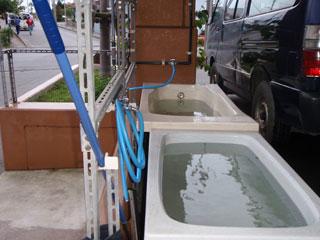 器材洗い桶
