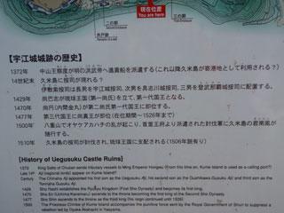 宇江城城跡の歴史