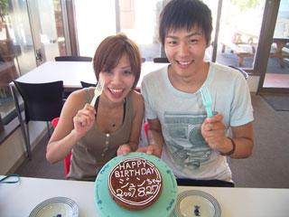 誕生日記念ケーキ